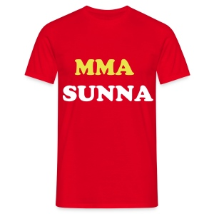 MMA SUNNA T-Shoort RED - T-shirt Homme