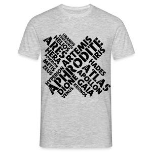 Free Athlete Kreuz Götter - Männer T-Shirt