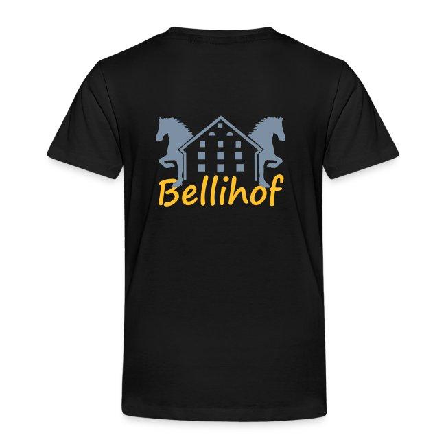 Bellihof Kinder T-Shirt schwarz