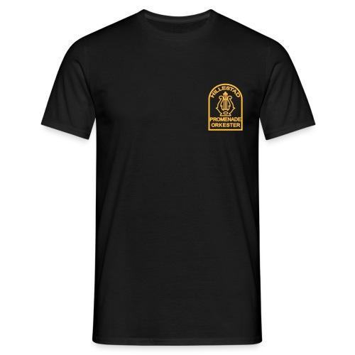 t-skjorte svart  - T-skjorte for menn