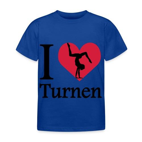 i love turnen - Kinderen T-shirt