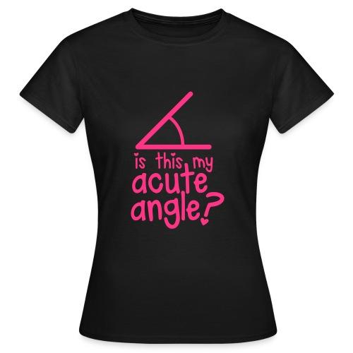 Maglietta Acute Angle Donna - Maglietta da donna