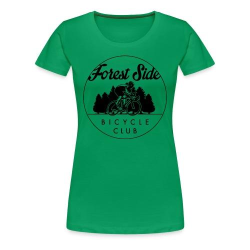 FSBC outline logo - womens - Women's Premium T-Shirt