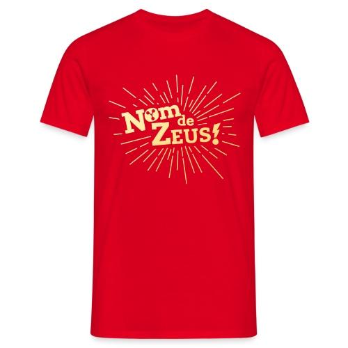Nom de zeus rouge - T-shirt Homme