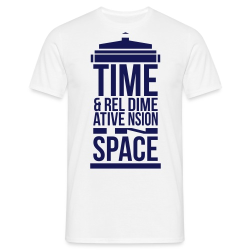 T-Shirt Doctor Who Tardis - T-shirt Homme