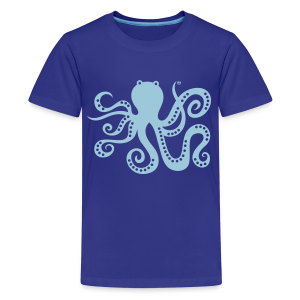 BD Octopus Kids Tshirt - Teenager Premium T-Shirt