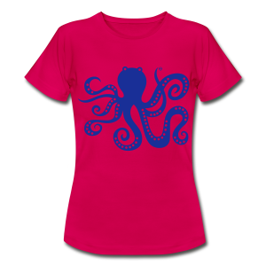 BD Octopus Girls Tshirt - Frauen T-Shirt