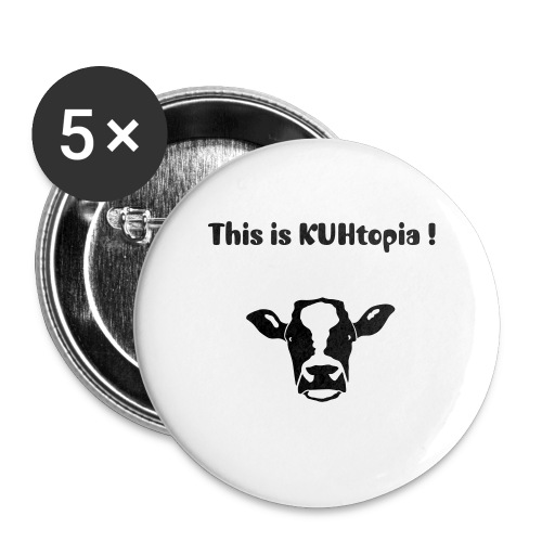 KUH-topia - Buttons groß 56 mm