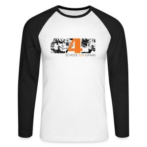 Student Art Shirt Boy - Männer Baseballshirt langarm