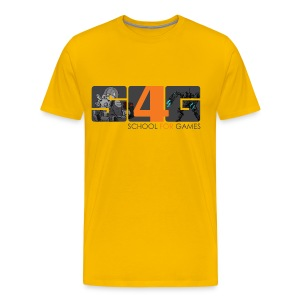 Student Art T-Shirt Boy - Männer Premium T-Shirt