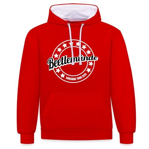 Beetlemunde - Contrast hoodie