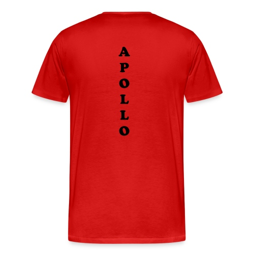 apollo T-shirt - red  - Men's Premium T-Shirt