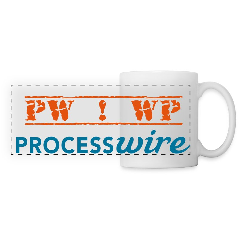 PW ! WP | Bi-Colour - Panoramic Mug