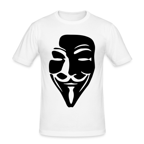Camiseta Anonymous - Camiseta ajustada hombre