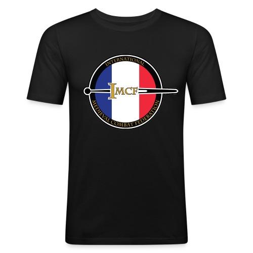T-SHIRT IMCF FRANCE avec verso et épée - T-shirt près du corps Homme