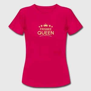 frisbee queen stars - Frauen T-Shirt