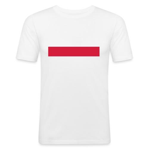 MEISTERWerk & RussianBoy Männer T-Shirt Weiß Slim Fit - Männer Slim Fit T-Shirt