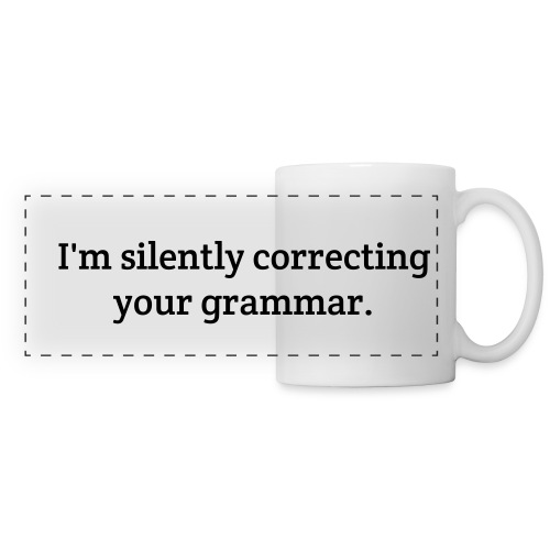 Grammar Mug - Panoramic Mug