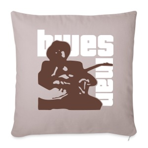 blues man kissen - Sofa pillow cover 44 x 44 cm