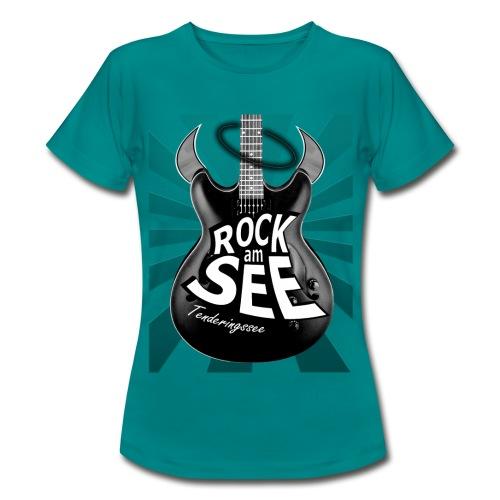 RaS Bad Guitar Frauen - Frauen T-Shirt