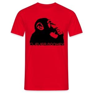 Clever Monkey T-Shirts - Men's T-Shirt