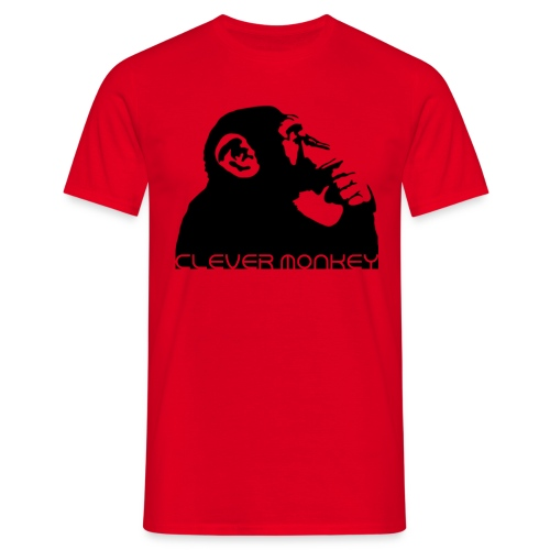 Clever Monkey T-Shirts - Men's T-Shirt