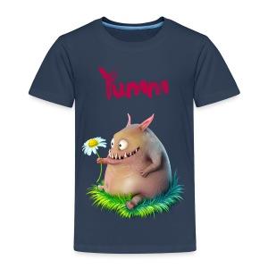 Kids Yumm Premium Navy - Kids' Premium T-Shirt