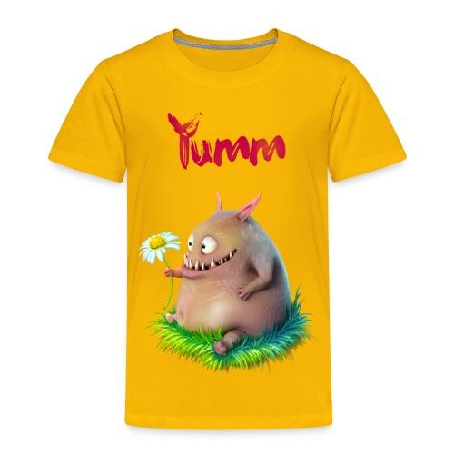 Kids Yumm Premium Yellow - Kids' Premium T-Shirt