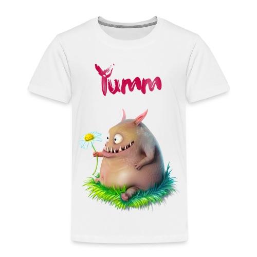 Kids Yumm Premium White - Kids' Premium T-Shirt