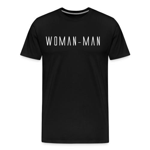 Woman-Man Logo Maglietta Uomo - Maglietta Premium da uomo