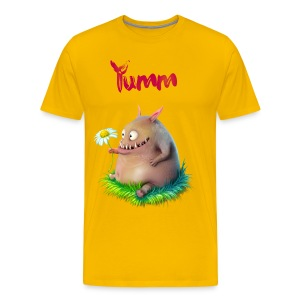 Men's Yumm Premium Yellow - Men's Premium T-Shirt