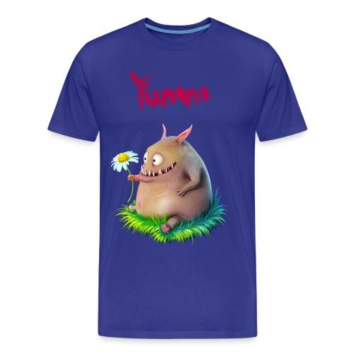 Men's Yumm Premium Blue - Men's Premium T-Shirt