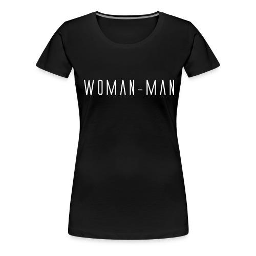 Woman-Man Logo Maglietta Donna - Maglietta Premium da donna
