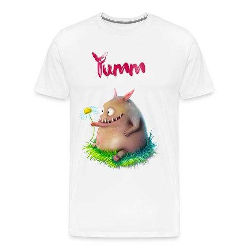 Men's Yumm Premium White - Men's Premium T-Shirt