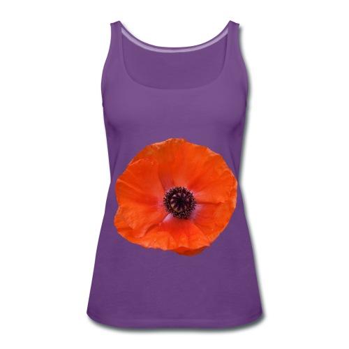 Poppy t-shirt - Women's Premium Tank Top