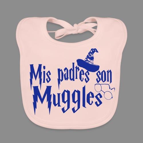 Mis padres son Muggles - Babero ecológico bebé