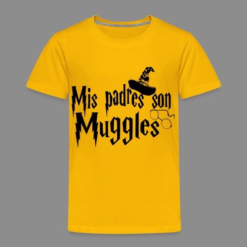 Mis padres son Muggles - Camiseta premium niño