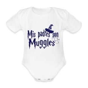 Mis padres son Muggles - Body orgánico de maga corta para bebé