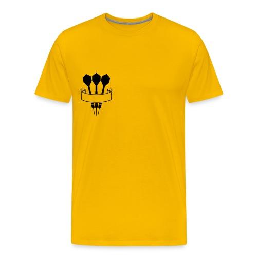 Dartspaita  - Miesten premium t-paita