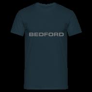 T-Shirts ~ Men's T-Shirt ~ Bedford script emblem