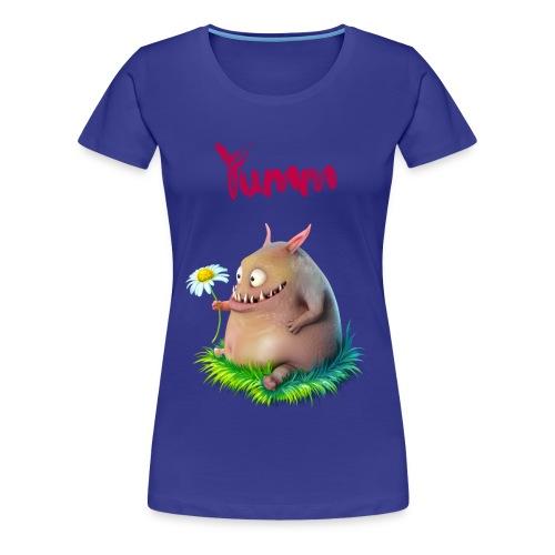 Women's Yumm Premium Blue - Women's Premium T-Shirt
