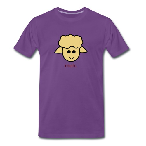 Meh t-shirt - Men's Premium T-Shirt