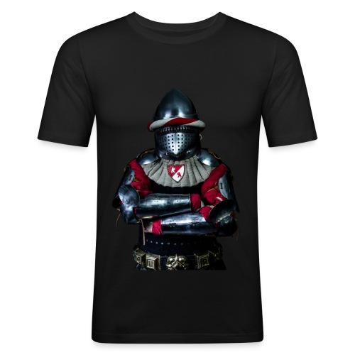T-shirt Le Chevalier Armure Charles VI - T-shirt près du corps Homme