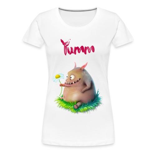Women's Yumm Premium White - Women's Premium T-Shirt