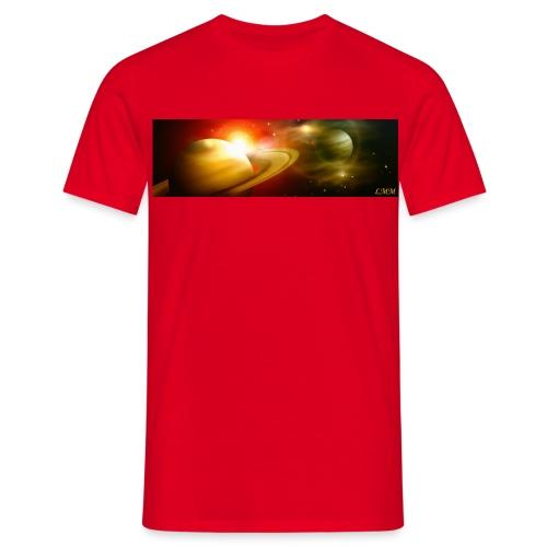T-shirt homme rouge Le dais du ciel - T-shirt Homme
