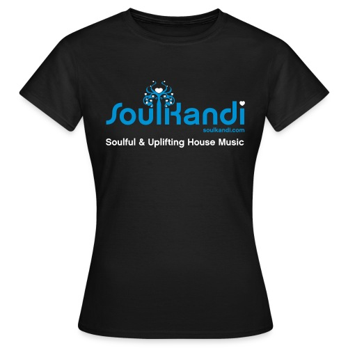 Womens Top with Blue & White Soul Kandi Tree Logo (Choice Of Colours) - Women's T-Shirt