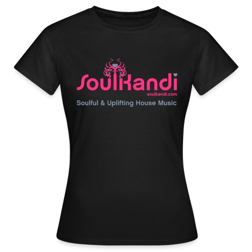 Womens Top with Pink & Grey Soul Kandi Tree Logo (Choice Of Colours) - Women's T-Shirt