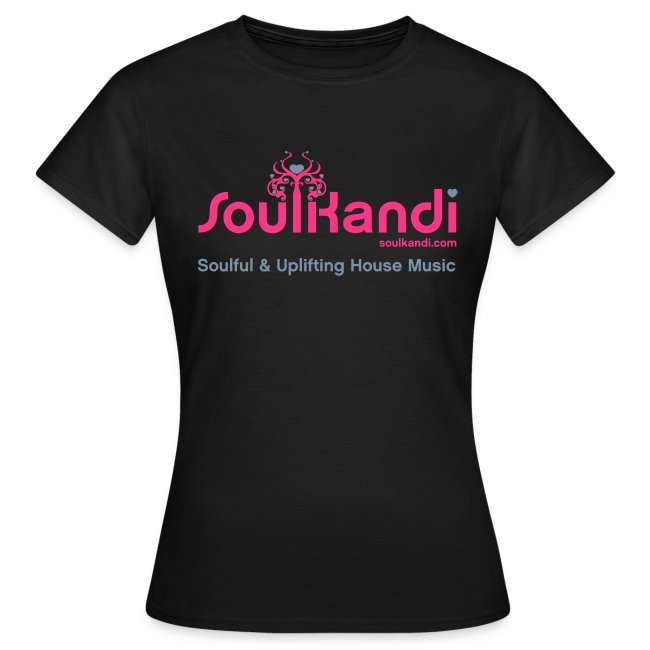 Womens Top with Pink & Grey Soul Kandi Tree Logo (Choice Of Colours)