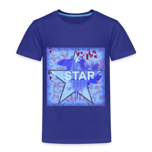 Premium-T-shirt barn - stars,livet,children,barn