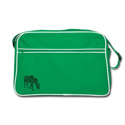 Pferde-Tasche - Retro Tasche